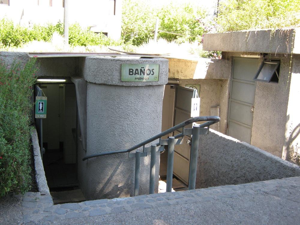 Baño Discapacitados Publico:baños públicos con escalera no tienen acceso para discapacitados